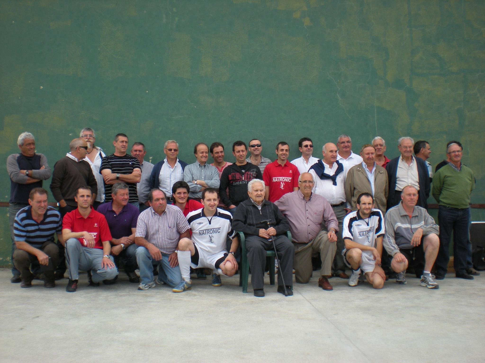 Veteranos de todas las edades del Urralongui