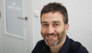 Gorka Lacunza, gerente de Atecna. Cedida