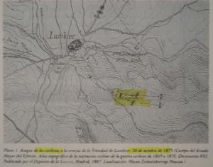 Información sobre el asalto y conquista de la Ermita de la Trinidad por las tropas carlistas