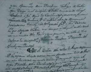 Documento sobre la preparación de la Plaza de la Villa de Aoiz para correr novillos