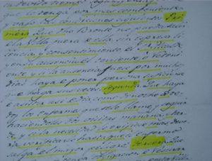 Documento del contrato entre el Ayuntamiento de Aoiz y el maestro cirujano Sr. Bronte