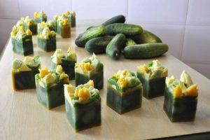 Jabones de Montse Bueno elaborado a partir de pepinos