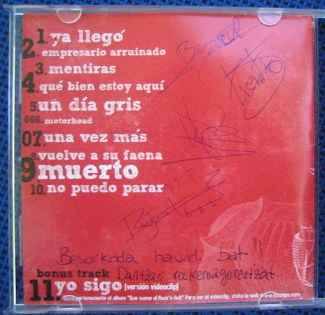 CD bat The Zepo rock taldeak sinatuta