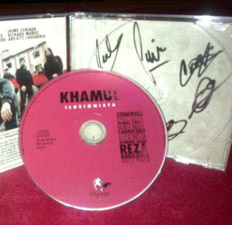 CD bat Khamul rock taldeak sinatuta